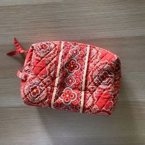 Vera Bradley Paprika large cosmetics bag